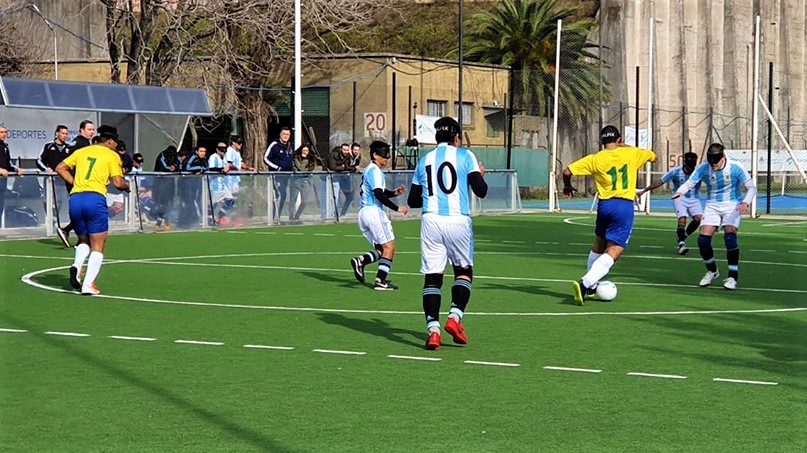 Imagen: Argentina B versus Brasil