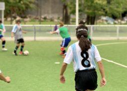 Entrenamiento de la Selección Femenina