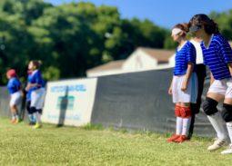 Concentración de la Selección de Fútbol Femenino