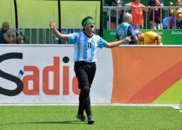 Nicolás Véliz celebra su gol en Rio 2016.